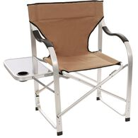 Aluminum Extra Large Director's Chair, Tan