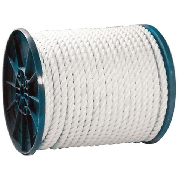 "Seachoice 3/8"" 3-Strand Twisted Nylon Rope Spool"