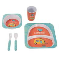 I Love Camping Set, Blue