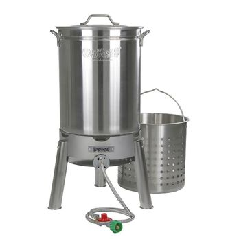 Bayou Classic® 44-qt Stainless Boil and Steam Kit