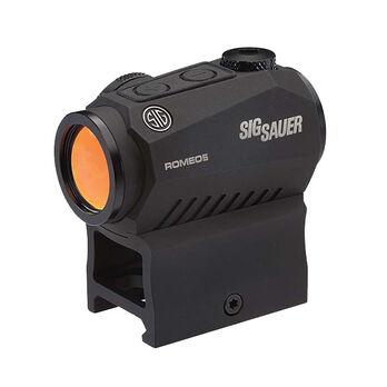 SIG Sauer 1x20 ROMEO5 Red Dot Sight, 2-MOA Dot/65-MOA Circle Reticle