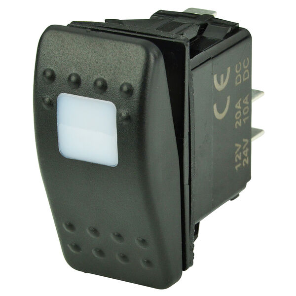 BEP SPST Contura Switch, Off/On, 1 LED