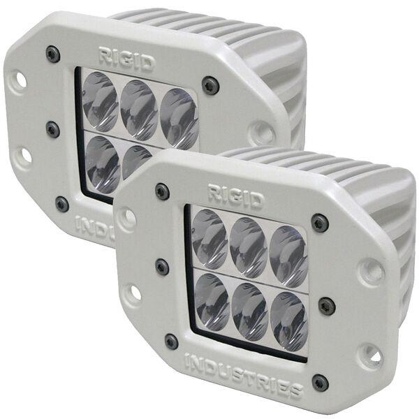 Rigid Industries M-Series Dually D2 Flush-Mount Driving LED Lights, Pair