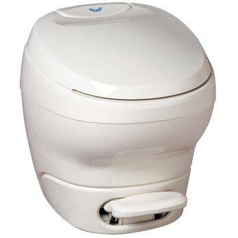 """Bravura Toilet Low Profile, White, 14"""""""