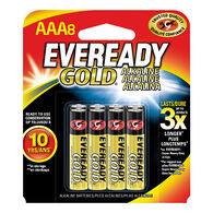 Eveready Gold AAA Batteries, 8-pack