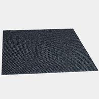 "Foss 18"" x 18"" Self-Adhesive Carpet Tiles, Hobnail Blue, 10-Pack"