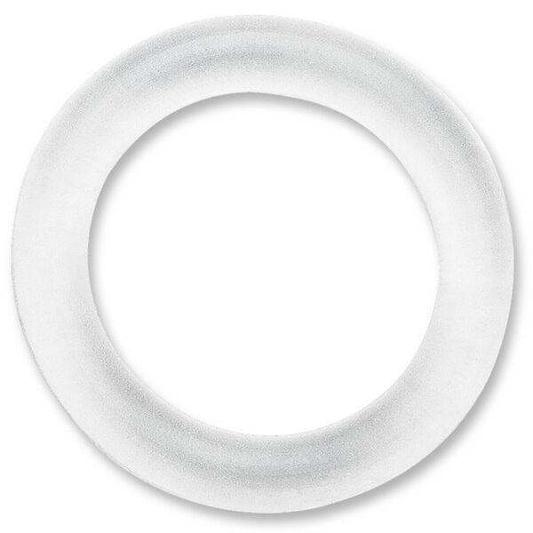 Rapala Wacky Rings, Clear, 15-Pack
