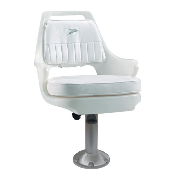 Wise Pilot Chair With Fixed Pedestal, Spider Mounting Plate