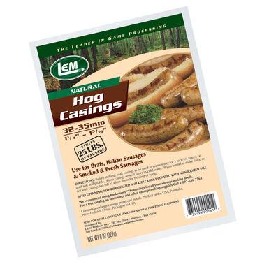 LEM Natural Hog Casings, 8-Oz. Bag