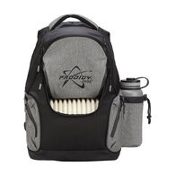 Disc Backpack, Black/Heather Gray