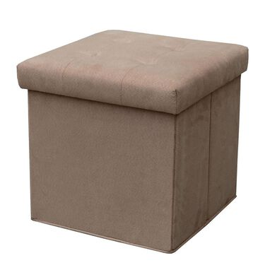 Ottoman Folded with 2 Pockets