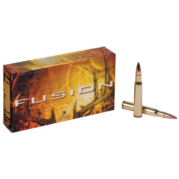 Fusion Rifle Ammunition, .30-06 Spring, 165-gr., BTSP