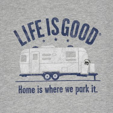 Life Is Good Men's Home Is Where We Park It Tee, Large