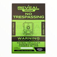 Tactacam No Trespassing Sign, 3-Pack