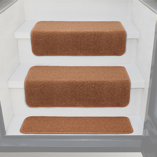 Prest-O-Fit Decorian Step Hugger for RV Stairs, Buckskin Brown, Each