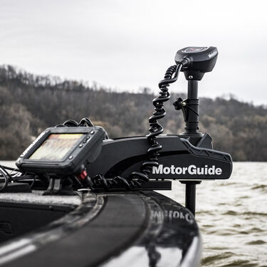 MotorGuide Xi3 FW Wireless Trolling Motor w/Pinpoint GPS & Transducer, 70lb. 60""