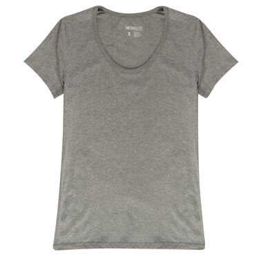 The Stacks Women's Short-Sleeve Scoop-Neck Tee