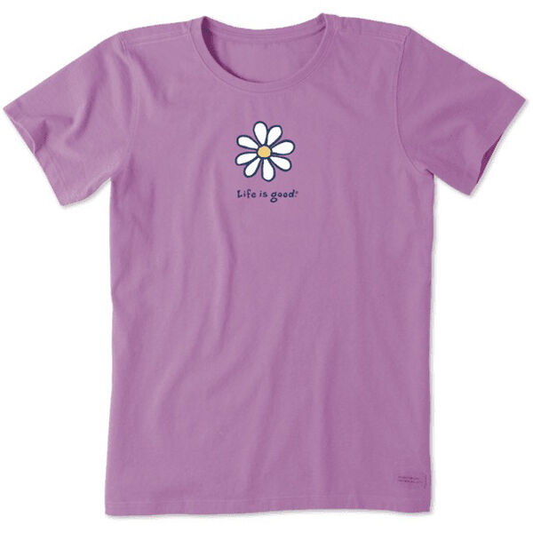 Life Is Good Women's Daisy Vintage Crusher T-Shirt