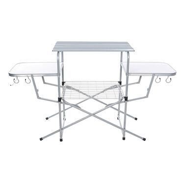 Folding Aluminum Grill Table