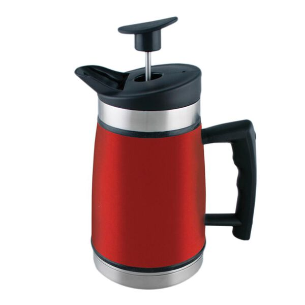 Table Top French Press, 20 oz., Red Rock