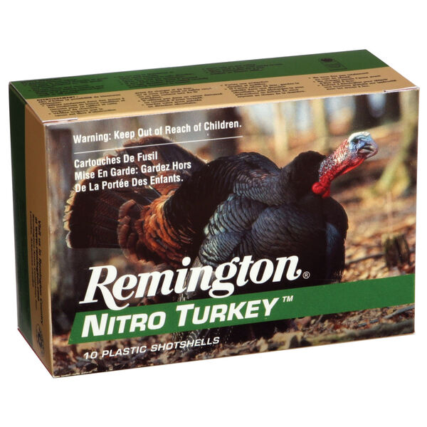 "Remington Nitro Turkey Buffered Loads, 12-ga., 3-1/2"", 2-oz., #4"