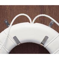 Stainless Steel Life Ring J-Hooks