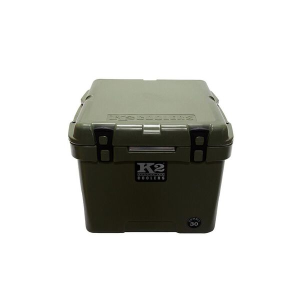 K2 Summit 30 Quart Cooler, Duck Boat Green