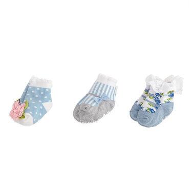 Mud Pie Girls' Garden Sock Set