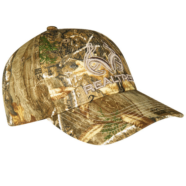 Realtree Men's 3-D Logo Camo Cap