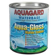 Aquagard Aqua-Gloss Waterbase Enamel, Quart