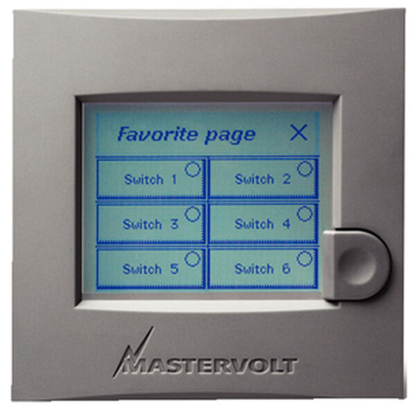 Mastervolt Easy Touchscreen Panel
