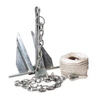 Overton's #7 Slip-Ring Galvanized Anchor Kit
