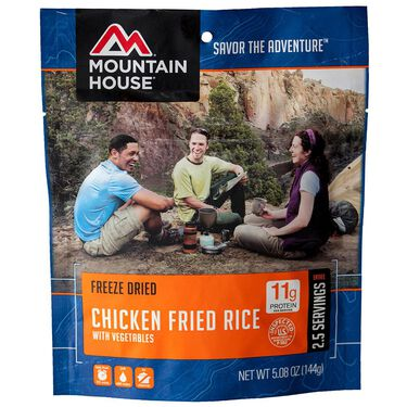 Mountain House Chicken Fried Rice Freeze-Dried Meal Pouch