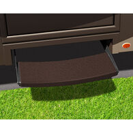 Prest-o-Fit Outrigger Universal RV Step Rugs, Chocolate Brown, 3-pack