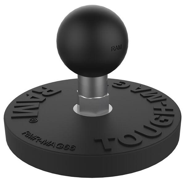 RAM Mount RAM; Tough-Mag; 66MM Diameter Ball Base