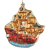 Midwest Pirate Ship Ornament