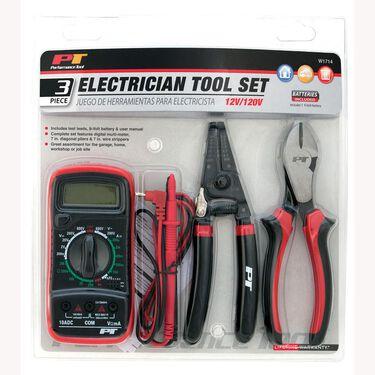 3-piece Electrician Tool Set