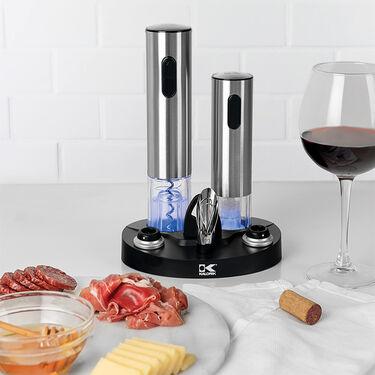 Kalorik Wine Lovers Set with Opener and Preserver