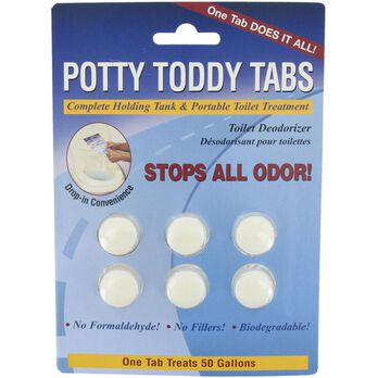 Potty Toddy Tabs - Pkg. of 6