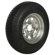 Tredit H188 225/75 x 15 Bias Trailer Tire, 5-Lug Spoke Galvanized Rim