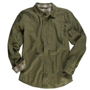 Ultimate Terrain Men's Explorer Twill II Shirt - Flannel-Lined