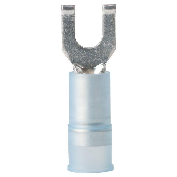 Ancor Nylon Flanged Spade Terminals, 16-14 AWG, #6 Screw, 25-Pk.
