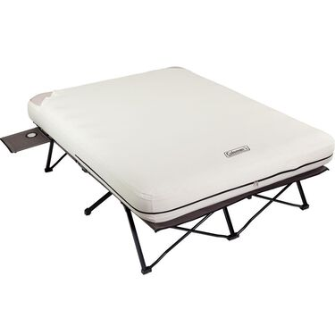 Queen Airbed Cot with Side Tables