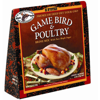 Hi Mountain Game Bird Brines and Cures