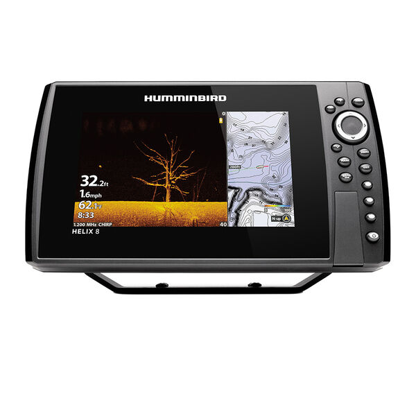 Humminbird HELIX CHIRP MEGA DI GPS G4N