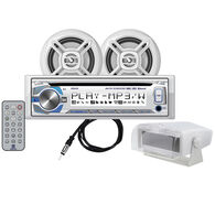 "Dual MCP420GH CD/USB/MP3/WMA Bluetooth Receiver With Two 6.5"" Speakers"