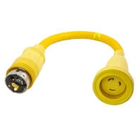 Hubbel HBL61CM71 Molded Straight Adapter