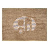 "RV Bath Mat, 22"" x 16"", Beige"