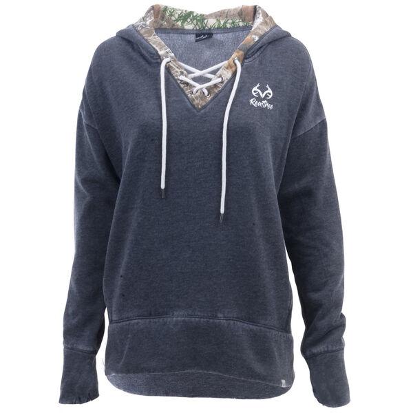 Realtree Women's Renue Laceup Sweatshirt