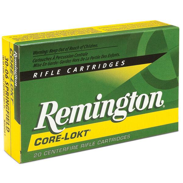Remington Core-Lokt Rifle Ammunition, .308 Win, 180-gr., PSP